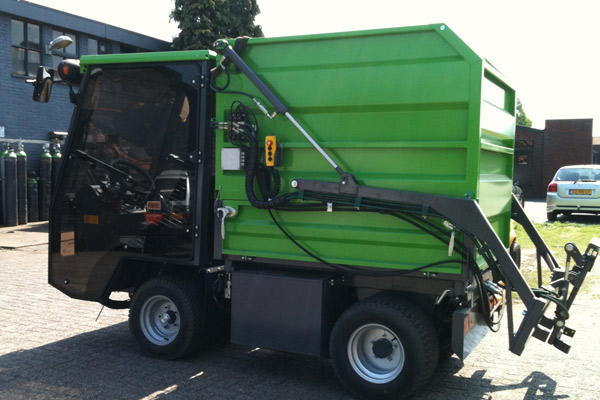 Waste Removal Vehicle